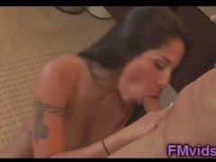 Busty latin Jenaveve Jolie amazing handjob