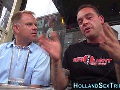 Dick tirant néerlandais talonneur
