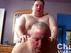 Chubby Bareback Fuck Buds