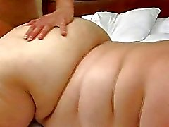 Guy fucks his hot fat GF