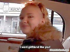 Schattige blonde amateur meisje krijgt sprak part3