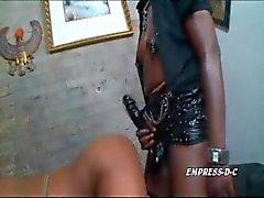 Empress DC fucks Mia Peach till she squirts Pt.2