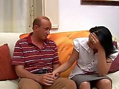 Italienska tonåring med gubben