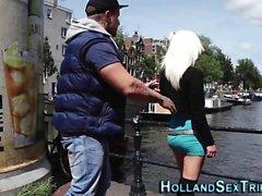 Holländischer Hooker gefingert