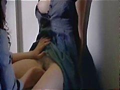 Erilaisia pätkiä julkkis Helene Zimmer alasti , masturboi ja imee elokuvan Q