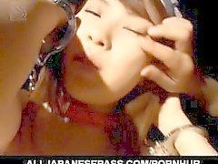 Sexo en grupo con Hikaru Hinata