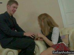 Italiensk Hot Scout - bellissima ragazza och en svenskare