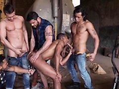 Big Dick Homosexuell Oralsex und Gesichtsbehandlung