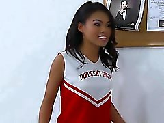 cheerleader Asian super hot