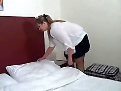 BBW Maid Gets Caught and Fucked