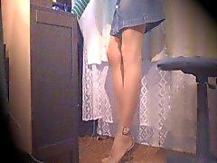 De webcam corridas con medias