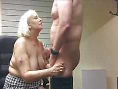 Penny Sneddon sperma sul verme mangia 19-6-18