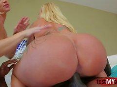 anal pornstar quente e filme Ejaculação clipe 1