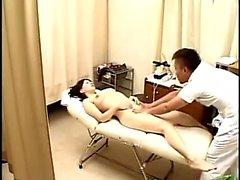 Massagem asiática erótica japonesa