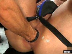 Hot jock fetisch och cumshot