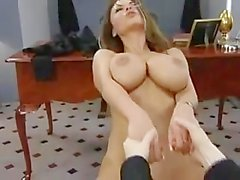 Veronica Zemanova. Erica Campbell, Danni Ashe - 100th Virtual Lap