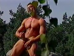 Hot Boy and Mature in the Forest