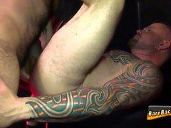 orso barebacking Tattooed