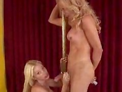 Hot Trannies Dancing On A Pole Sucking Poles