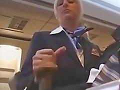stewardes très sexy
