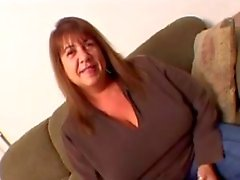 hot grannt wife trying a BBC