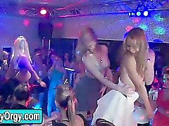 Amateur girls partying with strippers