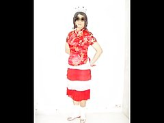 Hong Kong lesbian shemale Boylady Shirley's costumes & skirts