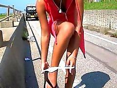 Annat superlång videon i Hagia jävlas i det offentliga