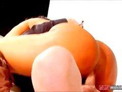 Brunette Cougar Angela Aspen Rides Cock