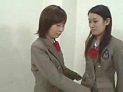 adolescentes japoneses deliciosos soltar suas roupas e revelar a