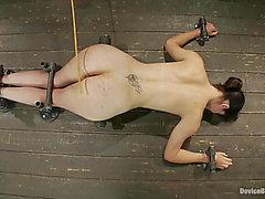 Bobbi Starr Receives Beaten And Screwed By A Sex Machine In SADOMASOCHISM Scene