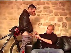 Sucking a monster french arab cock then fucked