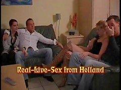 Sesso reale dall'Olanda