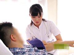 Nurse gazes and handjobs