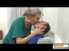 Graue Haare alte Großmutter ficken