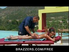 Indian girlfriend Priya Rai fucked hard by pool