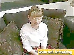 Casting porno Interview Cutie Violet