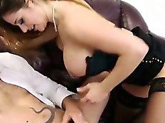 Da menina de sexy tesão fazendo do sexo