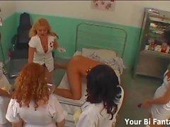 Har du någonsin varit knuten av en sjuksköterska före