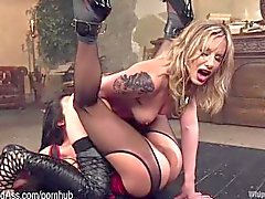 New Plaything Squirts For Hot Dominatrix