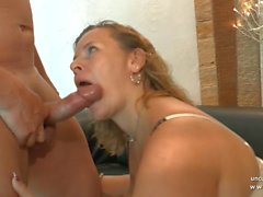 Amateur bbw french mature sodomized DP fisted n facialized