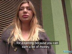 Public Agent Hot prospect de modelo Vyvan Hill fodido