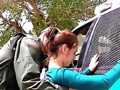 Basic Mexican jugendlich beim Überschreiten der border rigoros gefickt