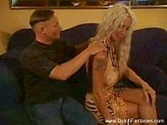 Vanha hollantilainen Blonde Whore Fucked Hard