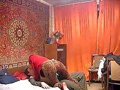 Russian Mamã amadurecido e o filho dela ! Amador!
