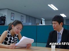Hot koreanska Office MILF