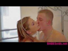 Busty blonde Katerina Hartlova hot fuck