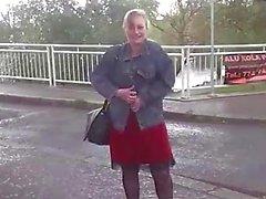 Busty ceco con suocera scopa duro con il autista di taxi corneo