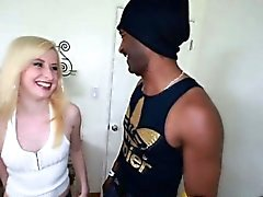 Kira Lake Sucked Deep Throat That Big Black Cock