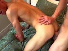 Muskel Twink Anal-Sex mit Creampie